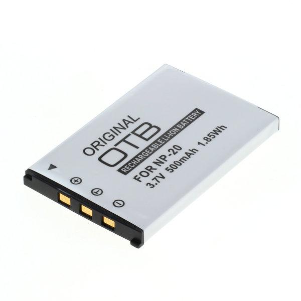 OTB Akku kompatibel zu Casio NP-20 Li-Ion 3.7 Volt
