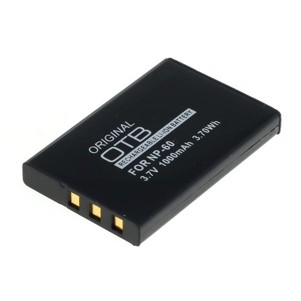 OTB Akku kompatibel zu Fuji NP-60 Li-Ion 3.7 Volt