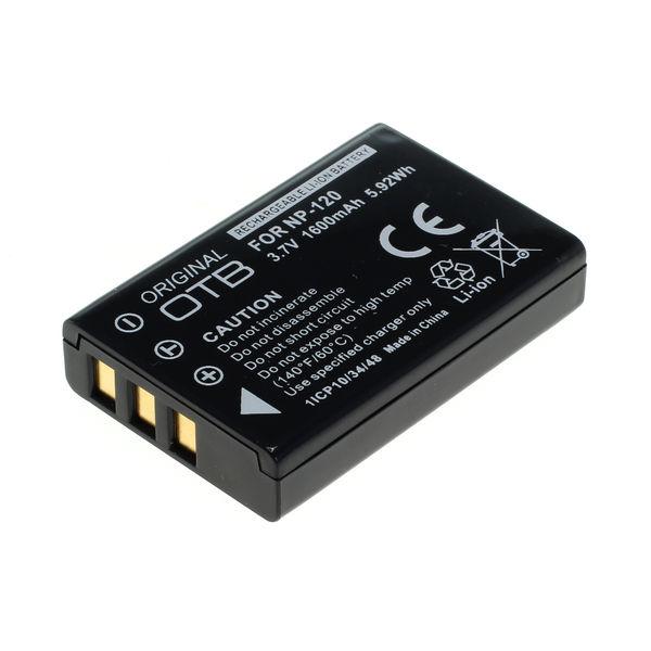OTB Akku kompatibel zu Fuji NP-120 Li-Ion 3.7 Volt