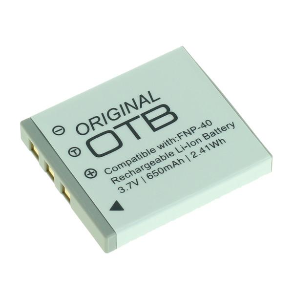 OTB Akku kompatibel zu Fuji NP-40 / Pentax D-LI85 / Samsung SLB-0737/0 3.7 Volt
