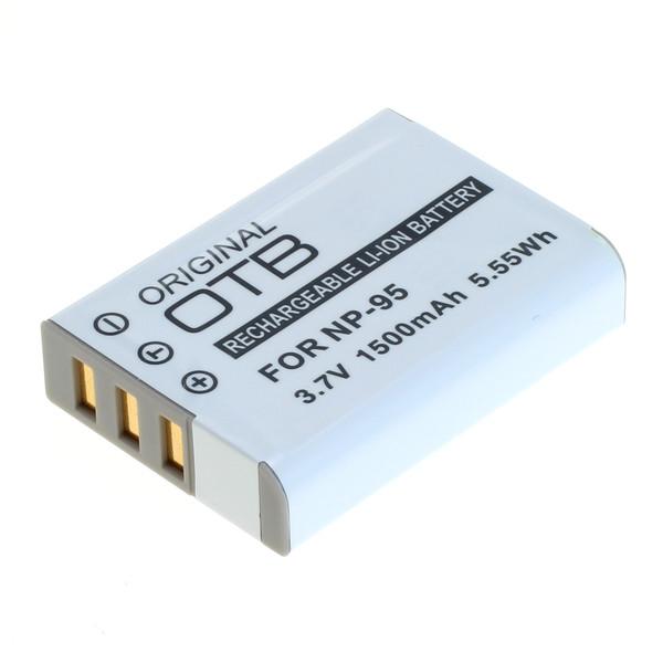 OTB Akku kompatibel zu Fuji NP-95 Li-Ion 3.7 Volt