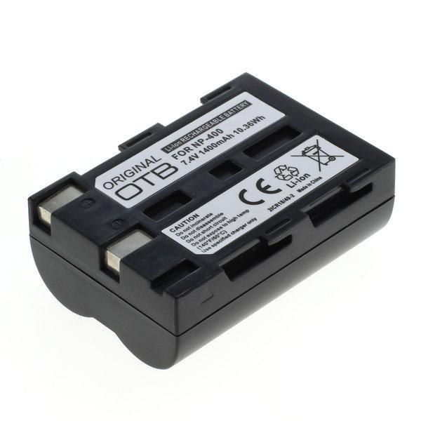 OTB Akku kompatibel zu Minolta NP-400 / Samsung SLB-1674 / Pentax D-Li 7.4 Volt