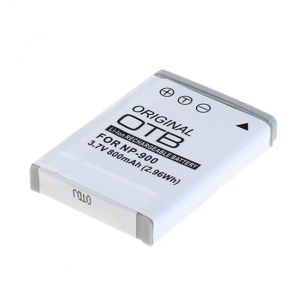 OTB Akku kompatibel zu Minolta NP-900 / Olympus LI-80B Li-Ion 3.7 Volt