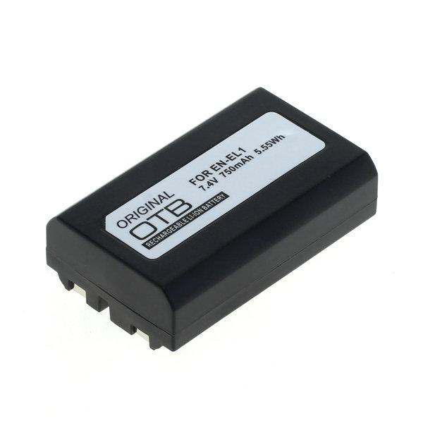 OTB Akku kompatibel zu Nikon EN-EL1 / Konica Minolta NP-800 Li-Ion - 7 7.2 Volt