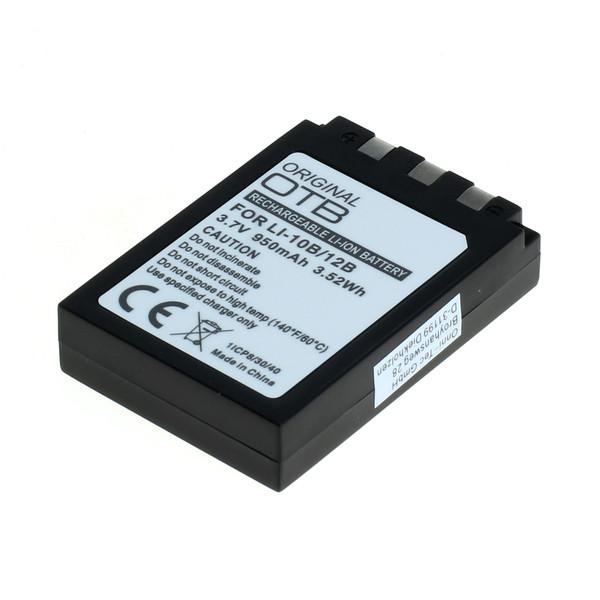 OTB Akku kompatibel zu Olympus LI-10B / LI12B Li-Ion 3.7 Volt