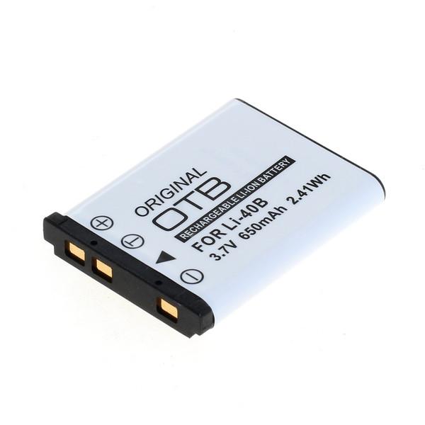 OTB Akku kompatibel zu Olympus LI-40B / Nikon EN-EL10 / Fuji NP-45 Li- 3.7 Volt
