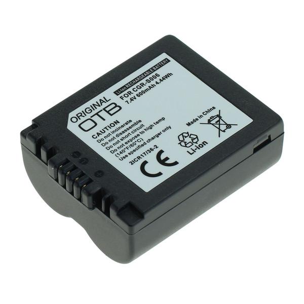 OTB Akku kompatibel zu Panasonic CGR-S006 Li-Ion 7.4 Volt