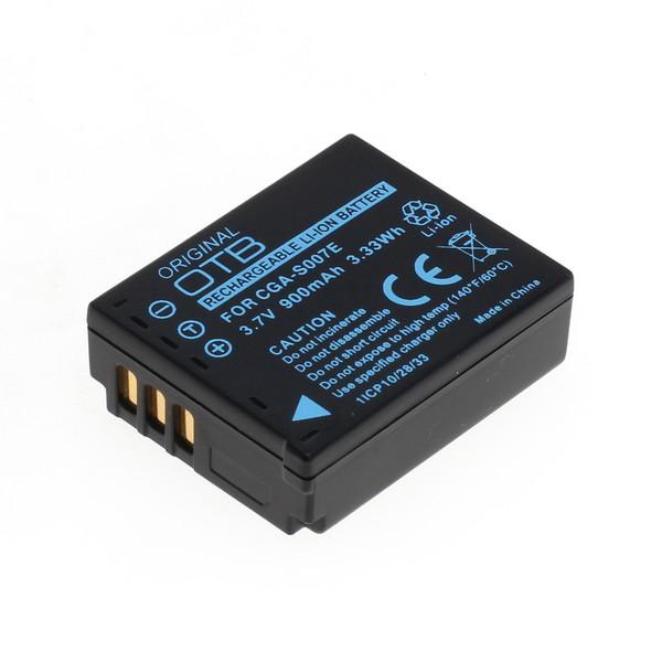 OTB Akku kompatibel zu Panasonic CGA-S007 / DMW-BCD10 Li-Ion 3.7 Volt