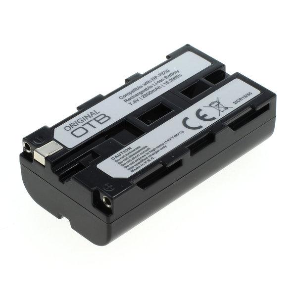 OTB Akku kompatibel zu Sony NP-F550 Li-Ion - 2200mAh 7.4 Volt