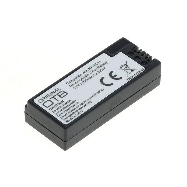 OTB Akku kompatibel zu Sony NP-FC11 Li-Ion 3.7 Volt