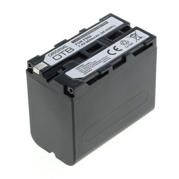 OTB Akku kompatibel zu Sony NP-F960 / NP-F970 Li-Ion 7.4 Volt