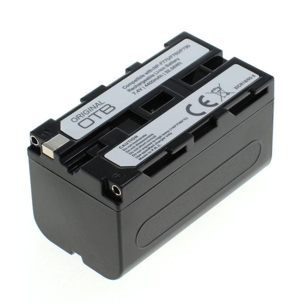 OTB Akku kompatibel zu Sony NP-F750 Li-Ion 7.4 Volt