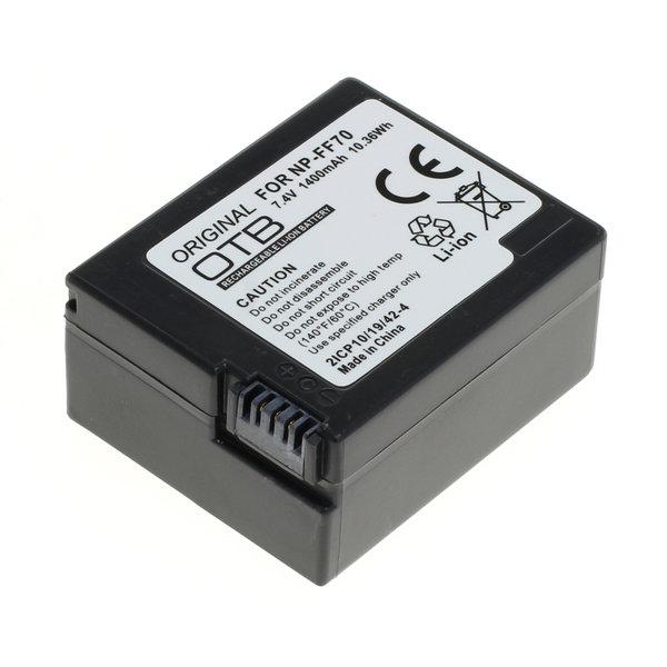 OTB Akku kompatibel zu Sony NP-FF70 Li-Ion 7.4 Volt