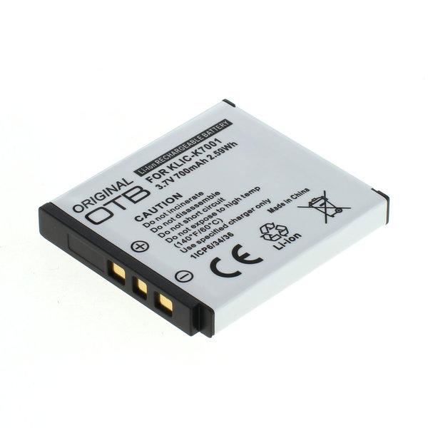 OTB Akku kompatibel zu Kodak Klic-7001 Li-Ion 3.7 Volt