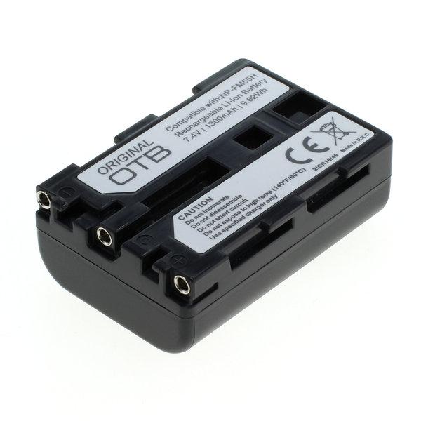 OTB Akku kompatibel zu Sony NP-FM55H / NP-QM51 Li-Ion 7.4 Volt