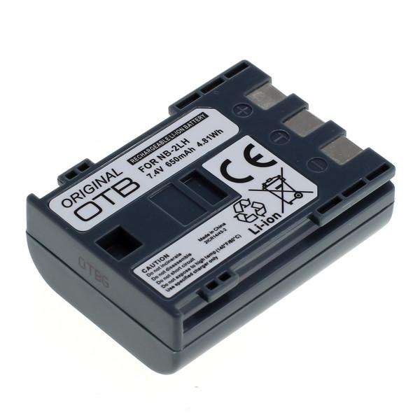 OTB Akku kompatibel zu Canon NB-2L / NB-2LH Li-Ion 7.4 Volt