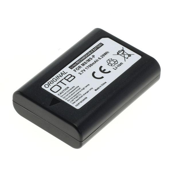 OTB Akku kompatibel zu Leica M8 / M9 / M9-P Li-Ion 3.7 Volt