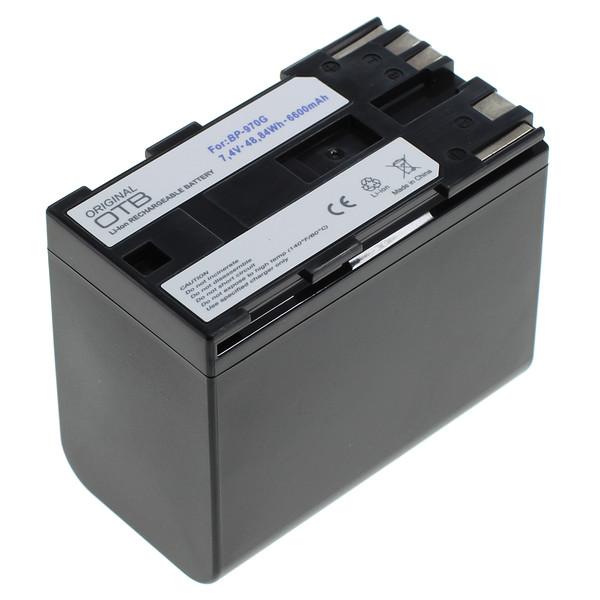OTB Akku kompatibel zu Canon BP-970G Li-Ion 7.4 Volt