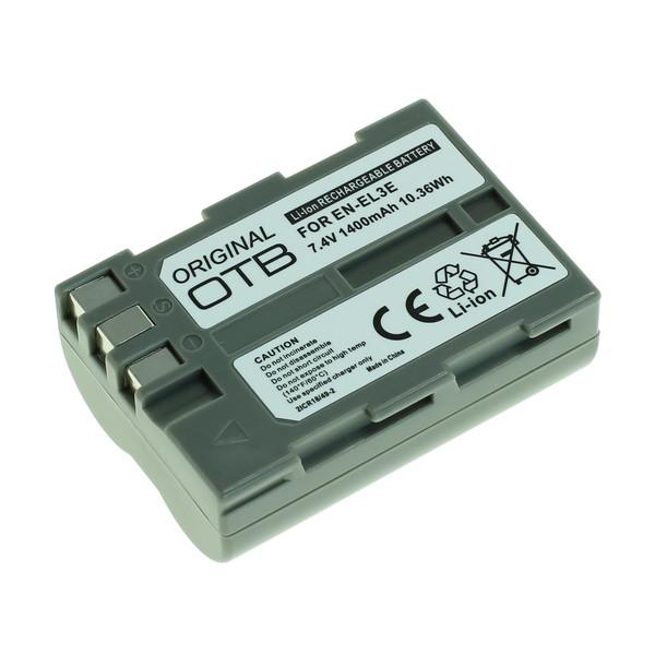 OTB Akku kompatibel zu Nikon EN-EL3e-2 Li-Ion 7.4 Volt