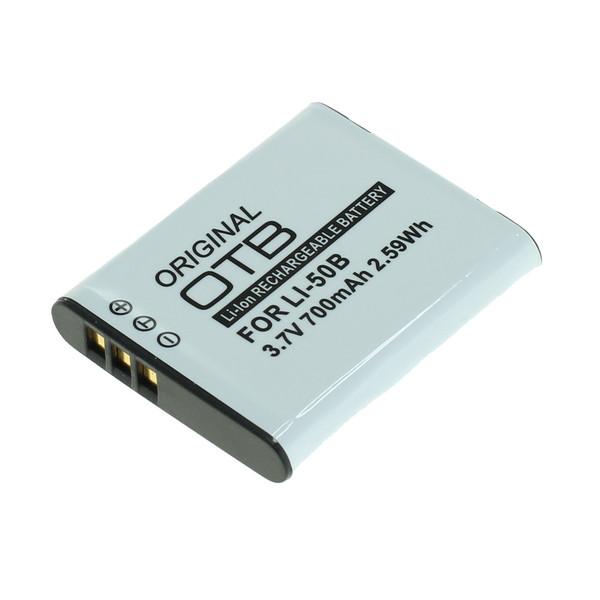 OTB Akku kompatibel zu Olympus Li-50B / Pentax D-Li92 / Ricoh DB-100 L 3.7 Volt
