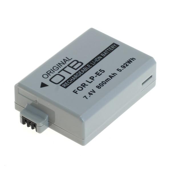 OTB Akku kompatibel zu Canon LP-E5 Li-Ion 7.4 Volt