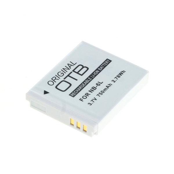 OTB Akku kompatibel zu Canon NB-6L Li-Ion 3.7 Volt
