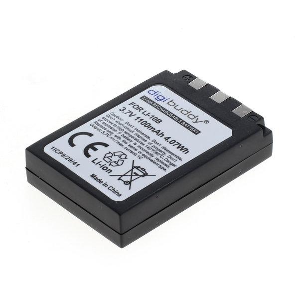 digibuddy Akku kompatibel zu Olympus LI-10B / LI-12B Li-Ion 3.7 Volt
