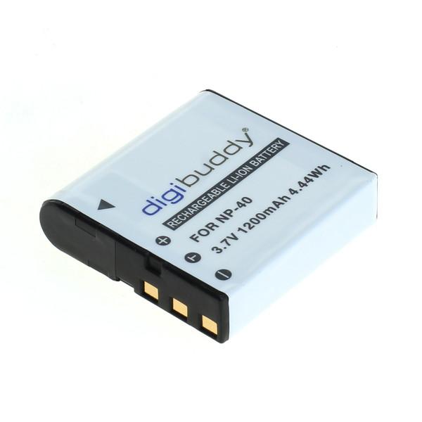 digibuddy Akku kompatibel zu Casio NP-40 Li-Ion 3.7 Volt