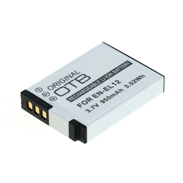 OTB Akku kompatibel zu Nikon EN-EL12 Li-Ion 3.7 Volt