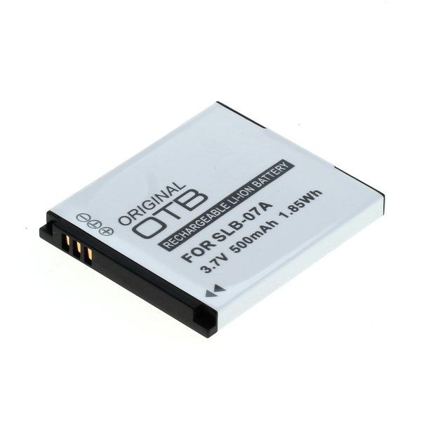 OTB Akku kompatibel zu Samsung SLB-07A Li-Ion 3.7 Volt