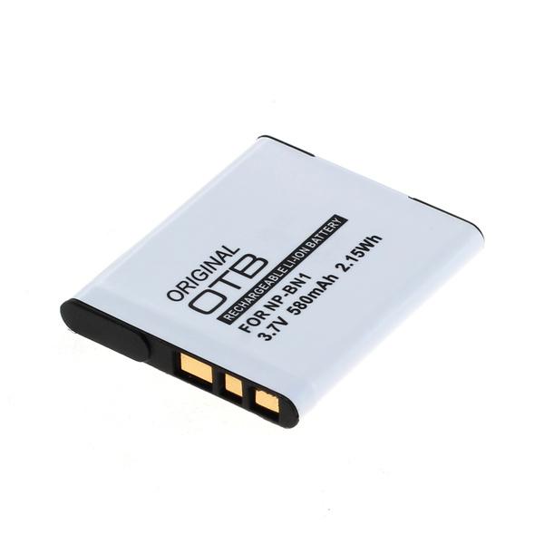 OTB Akku kompatibel zu Sony NP-BN1 Li-Ion 3.7 Volt