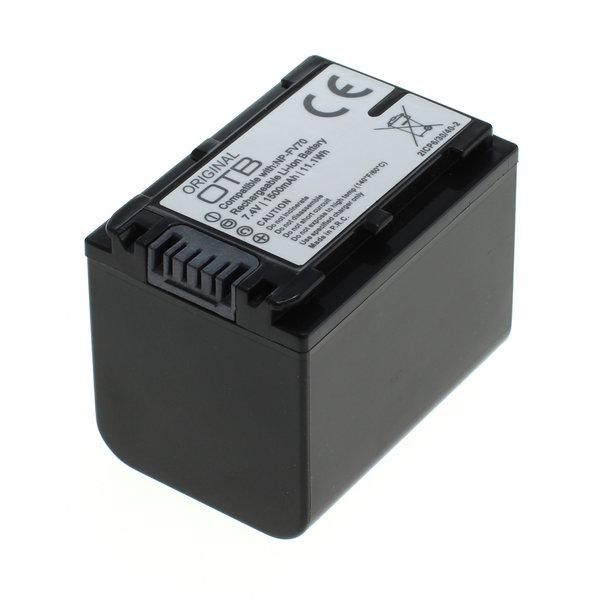 OTB Akku kompatibel zu Sony NP-FV70 Li-Ion 7.4 Volt