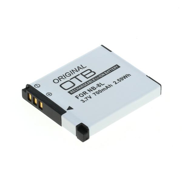 OTB Akku kompatibel zu Canon NB-8L Li-Ion 3.7 Volt