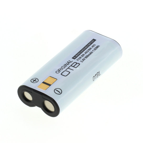 OTB Akku kompatibel zu Olympus BR-402 / BR-403 NiMH 2.4 Volt