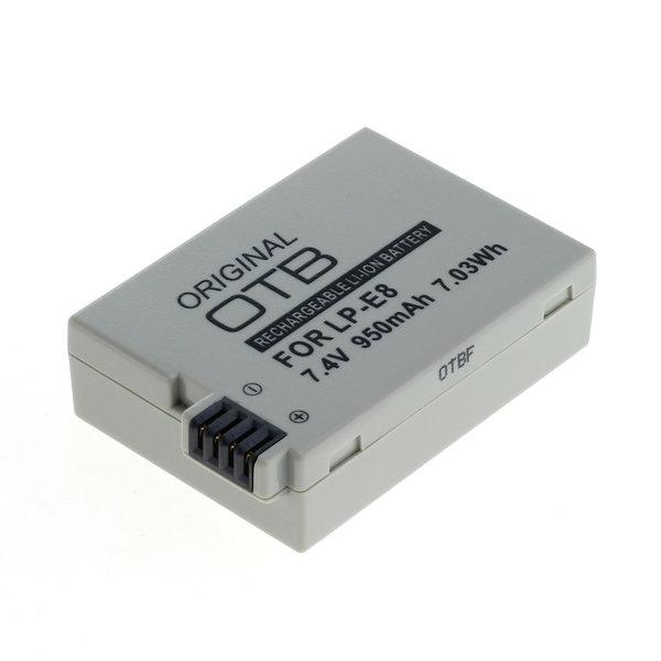 OTB Akku kompatibel zu Canon LP-E8 Li-Ion 7.4 Volt
