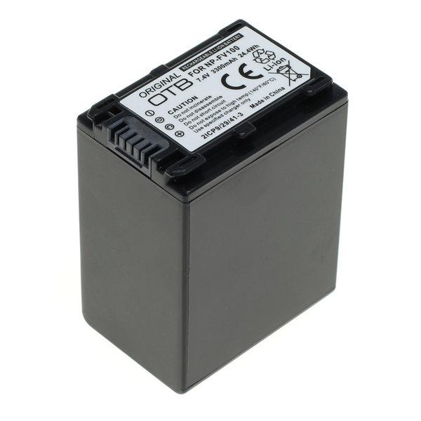 OTB Akku kompatibel zu Sony NP-FV100 Li-Ion 7.4 Volt