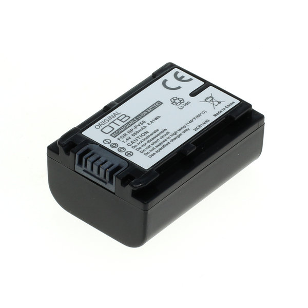 OTB Akku kompatibel zu Sony NP-FV50 Li-Ion 7.4 Volt