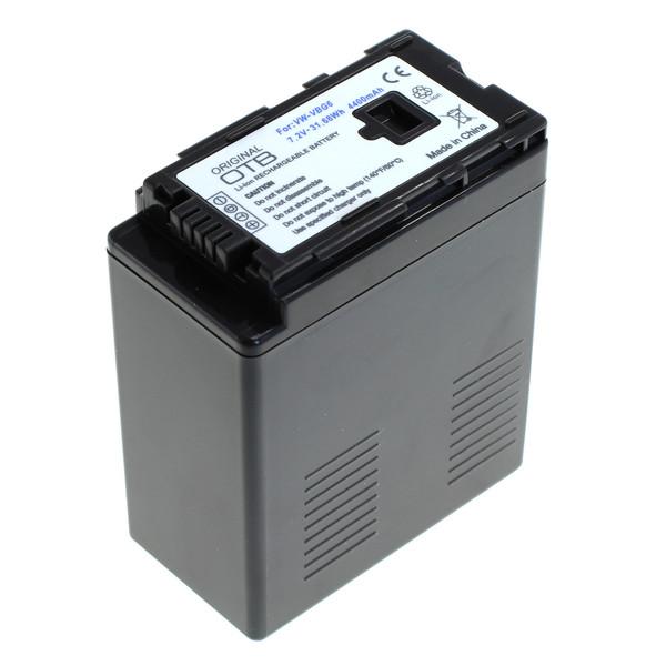 OTB Akku kompatibel zu Panasonic VW-VBG6 Li-Ion 7.2 Volt