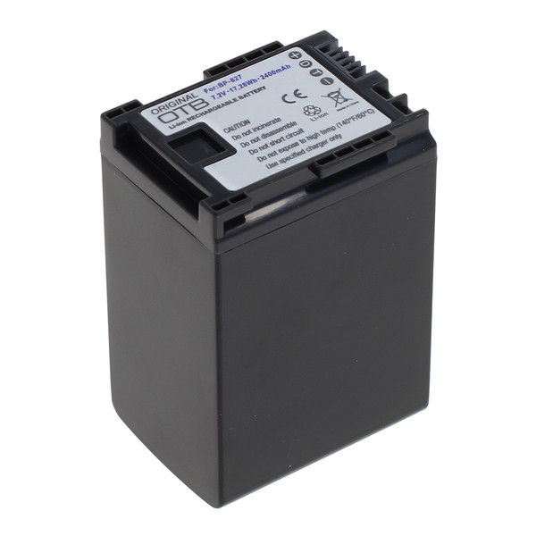 OTB Akku kompatibel zu Canon BP-827 Li-Ion 7.4 Volt