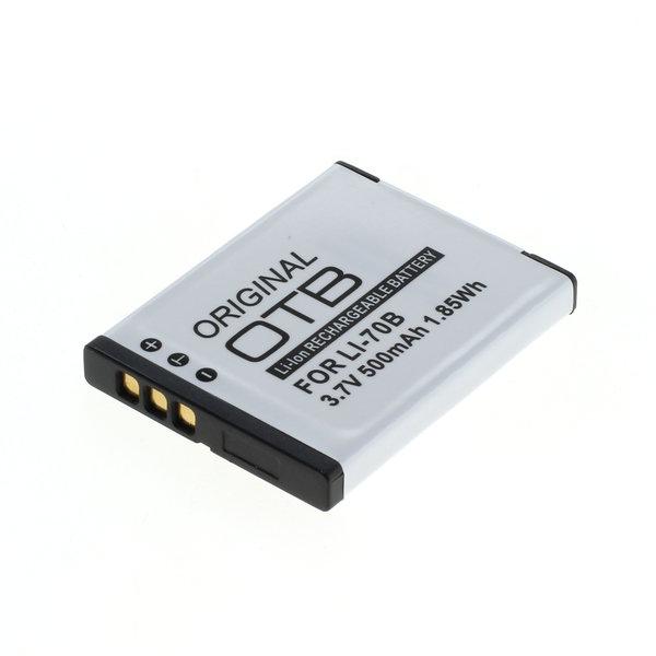 OTB Akku kompatibel zu Olympus Li-70B Li-Ion 3.7 Volt
