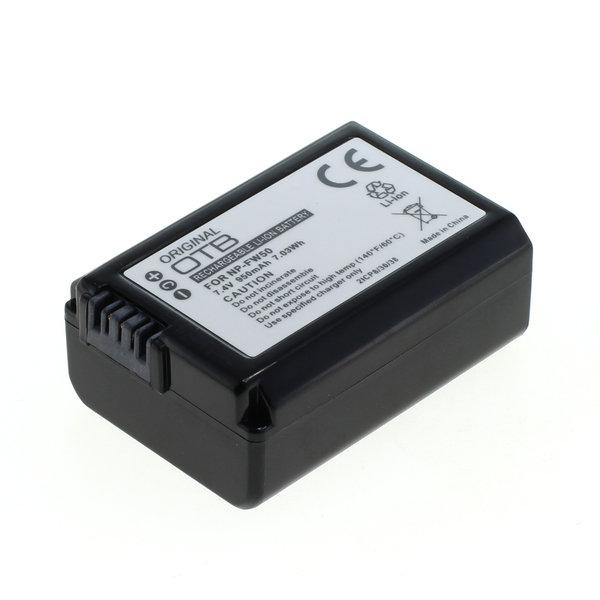 OTB Akku kompatibel zu Sony NP-FW50 Li-Ion 7.4 Volt