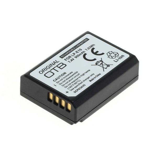 OTB Akku kompatibel zu Canon LP-E10 Li-Ion - 950mAh 7.4 Volt