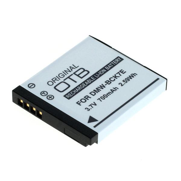OTB Akku kompatibel zu Panasonic DMW-BCK7 Li-Ion 3.7 Volt