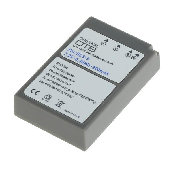 OTB Akku kompatibel zu Olympus BLS-5 / BLS-50 Li-Ion 7.4 Volt
