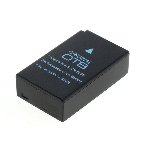 OTB Akku kompatibel zu Nikon EN-EL20 / EN-EL20a Li-Ion 7.4 Volt