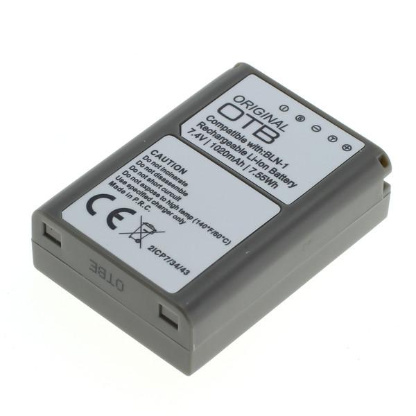 OTB Akku kompatibel zu Olympus BLN-1 Li-Ion 7.4 Volt