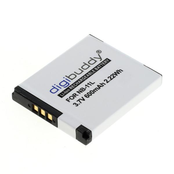 digibuddy Akku kompatibel zu Canon NB-11L Li-Ion 3.7 Volt