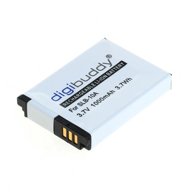 digibuddy Akku kompatibel zu Samsung SLB-10A / JVC BN-VH105 Li-Ion 3.7 Volt