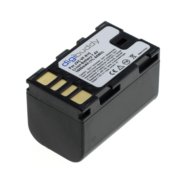 digibuddy Akku kompatibel zu JVC VF-815 Li-Ion 7.4 Volt