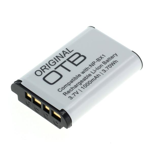 OTB Akku kompatibel zu Sony NP-BX1 Li-Ion 3.7 Volt